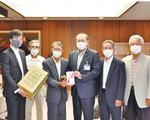 小田原茶業運営委員会のメンバーら