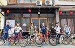 6月の自転車ツアーの様子