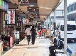 人や車の往来が増えた箱根湯本(8月8日撮影)