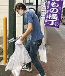 店主らによる清掃活動も行われた