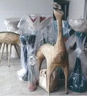 木彫作品30点を展示