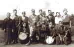 1946年撮影の保存会の写真(提供・同会)
