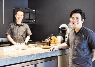 Mr. Kuzukubo and Mr. Yamamoto