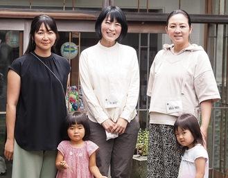 代表理事を務める玉田さん(中央)と理事の西村さん(左)と脇山さん