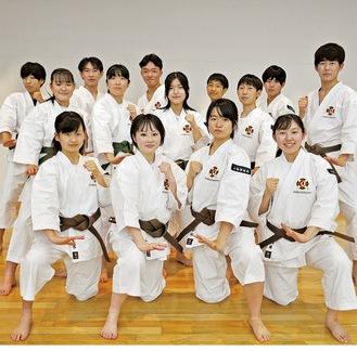 関東大会に出場する選手たち
