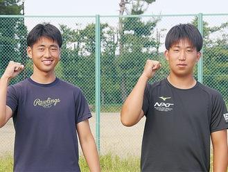 中込さん(左)と加藤さん