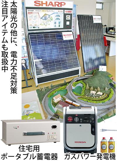 太陽光発電の専門店