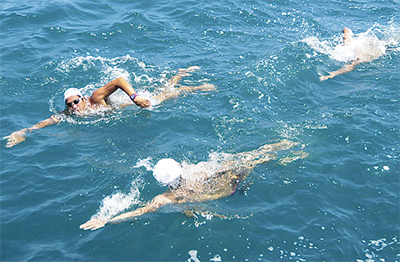 初島─熱海を完泳