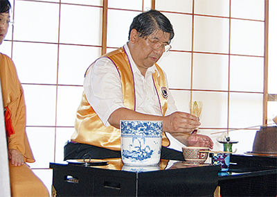 50周年祝い茶会