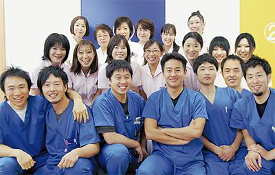 チームワークで地域医療を支える