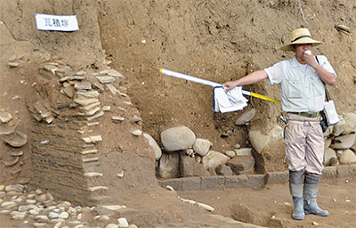 戦国 江戸の建物跡発見