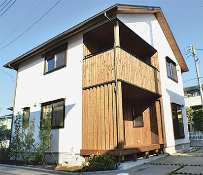 土壁の家「和木民家」完成