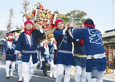 蒼天に響く木遣唄 日枝神社例大祭 | 小田原 | タウンニュース