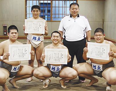 相撲の「甲子園」に出場