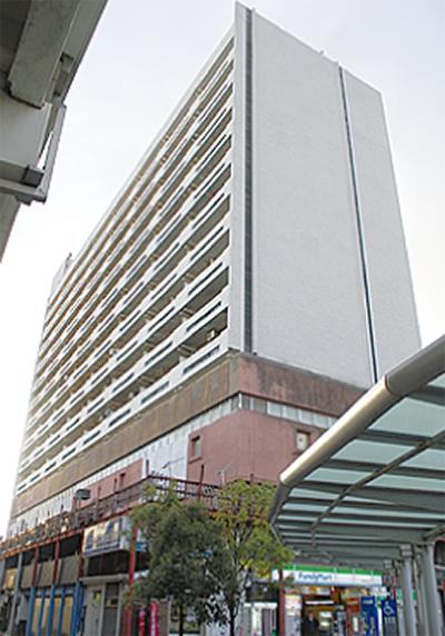 新幹線ビル 再建へ一歩