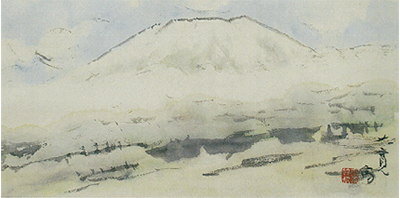 富士を愛した画家