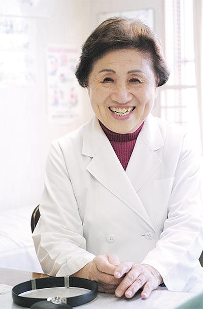 活力は患者の笑顔