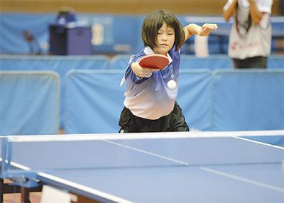 全日本卓球Jr.に出場