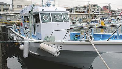 定置網漁業の強い味方