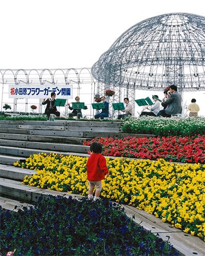 花と緑の名所が成人式