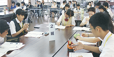 中学生が広島へ