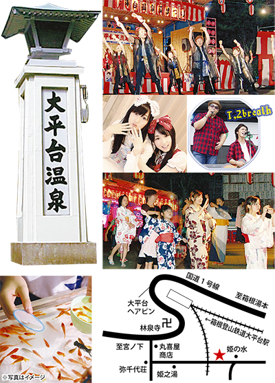 10(月)・11(火)大平台で姫まつり