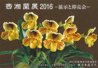 西湘蘭展2016