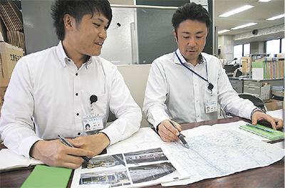 熊本市内で建物危険判定