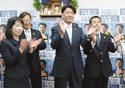市長選、加藤氏が3選