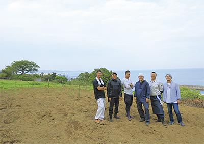 休耕地再興を企てる6人