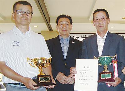 優勝は高井さん、長妻さん