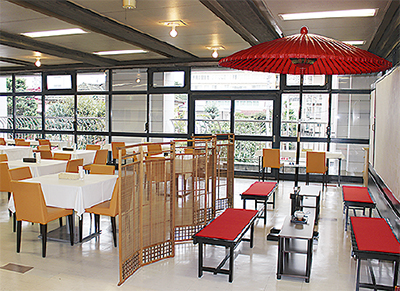 市民会館に新たな食堂