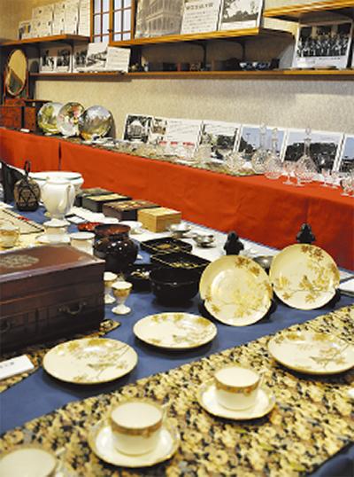 閑院宮家の史料展示