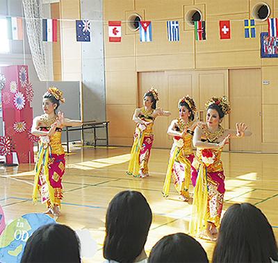 小田原で世界旅行