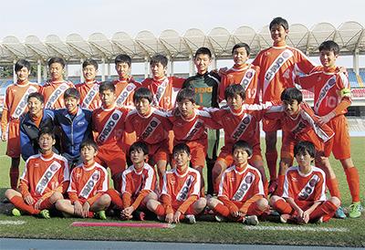 千代中イレブンが県準優勝