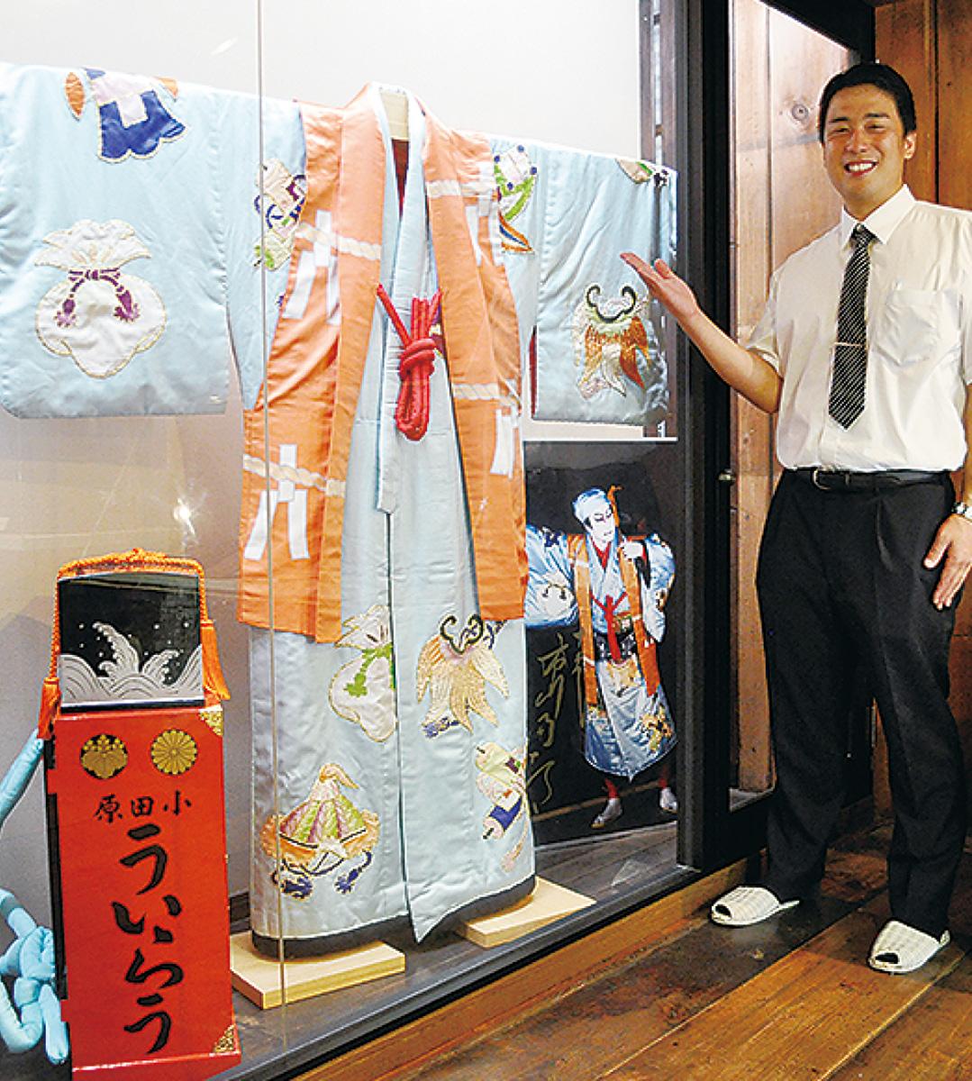 團十郎さんの衣装展示