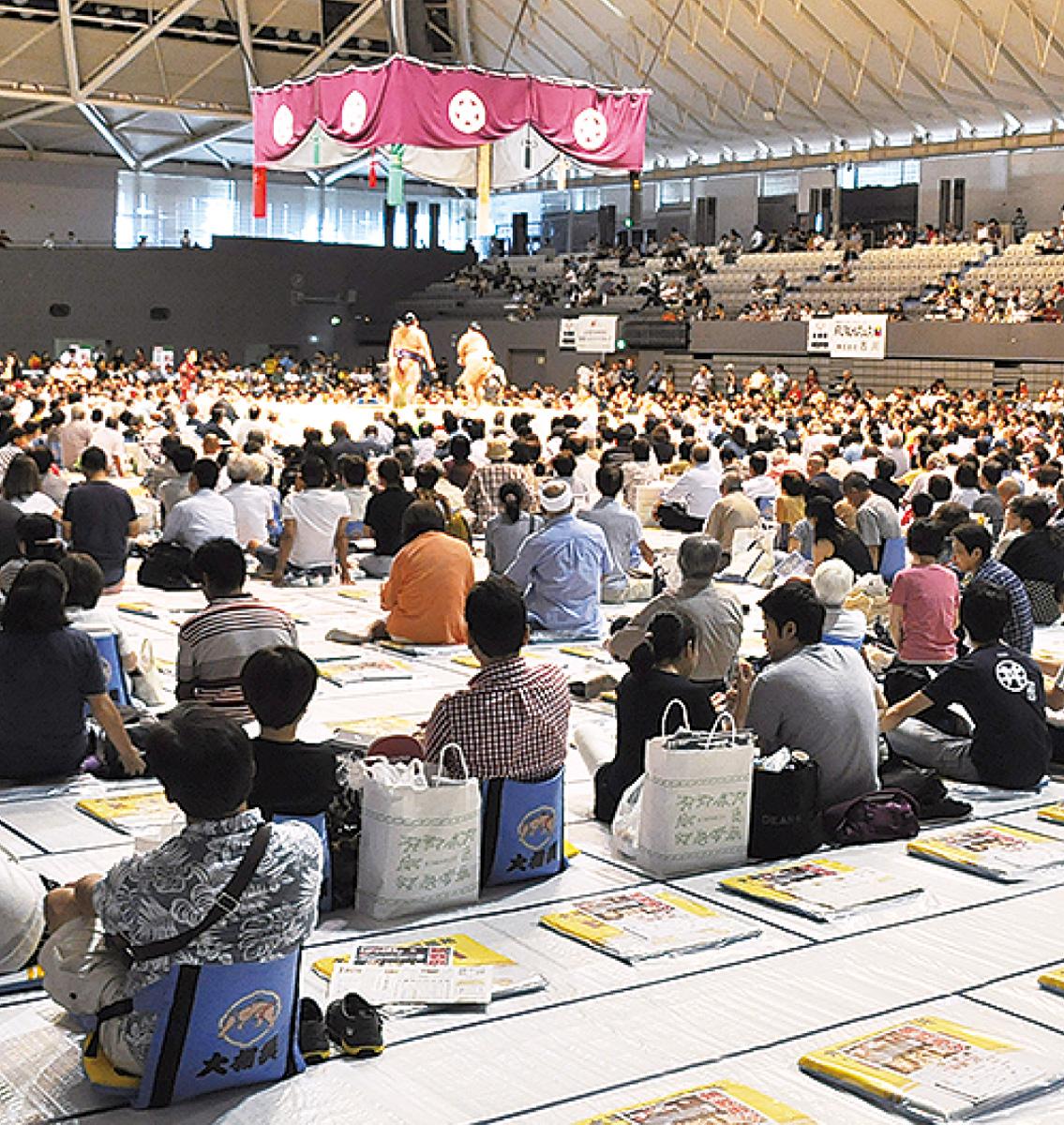沸いた、2年目の夏巡業 大相撲小田原場所に3500人 | 小田原・箱根 ...