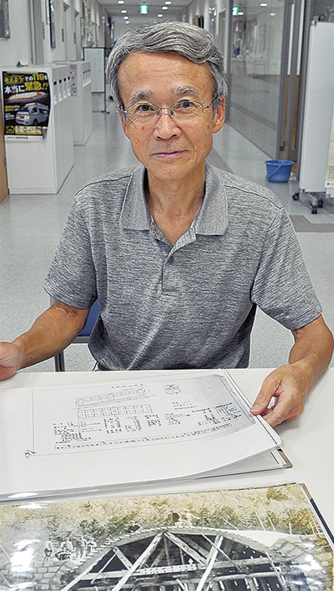 新幹線0系の「鼻」展示