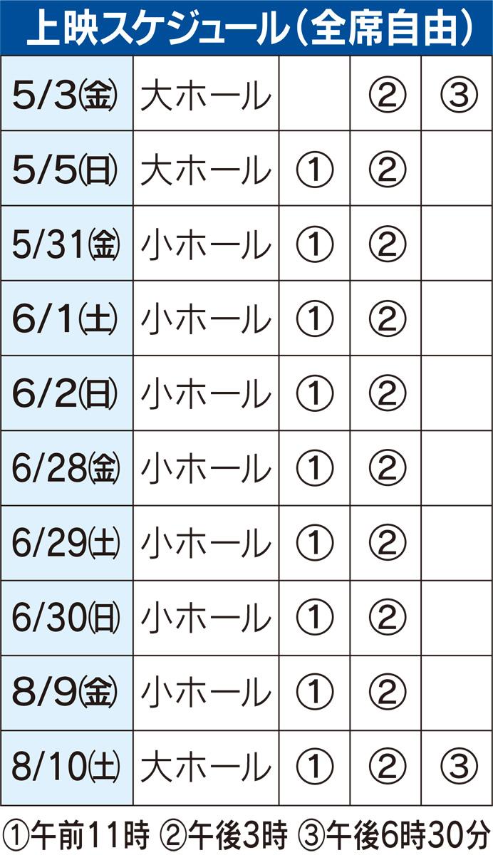 『二宮金次郎』の再上映決定