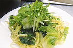 野菜たっぷりのパスタ