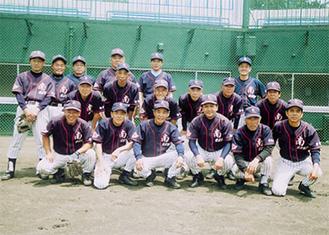 南足柄野球クラブのメンバー