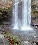 通常の滝壺