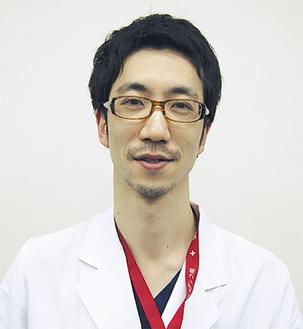 「定期的な健診が大事」と話す      國司(くにし)医師