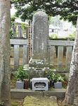 天野康景の墓は市指定文化財に指定されている