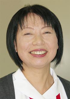 笑顔が印象的な高橋看護局長