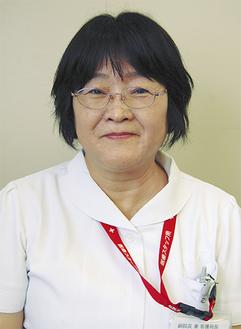副院長兼看護局長に就任した高橋祐子さん