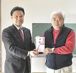 古川社長(左)と瀬戸会長
