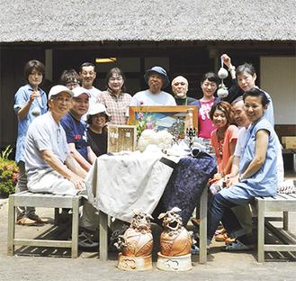 イベントに参加する作家たち =開成町・瀬戸屋敷