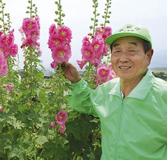 花の生育は順調