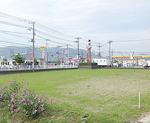 建設予定地の竹松交差点付近